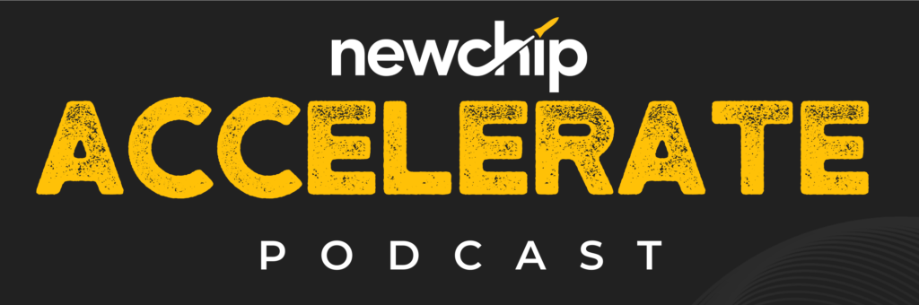 Newchip Accelerate Podcast Logo