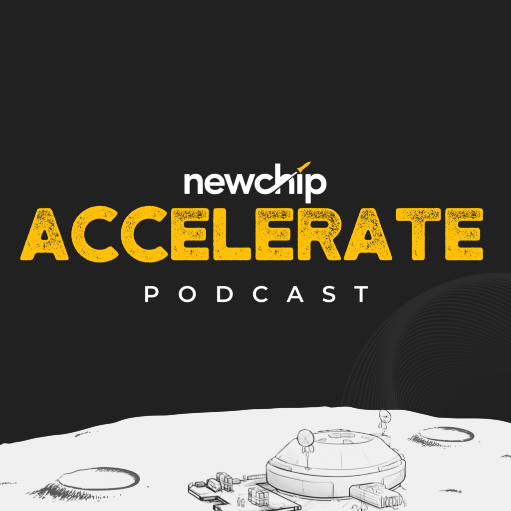 Newchip Accelerate Podcast Cover Photo